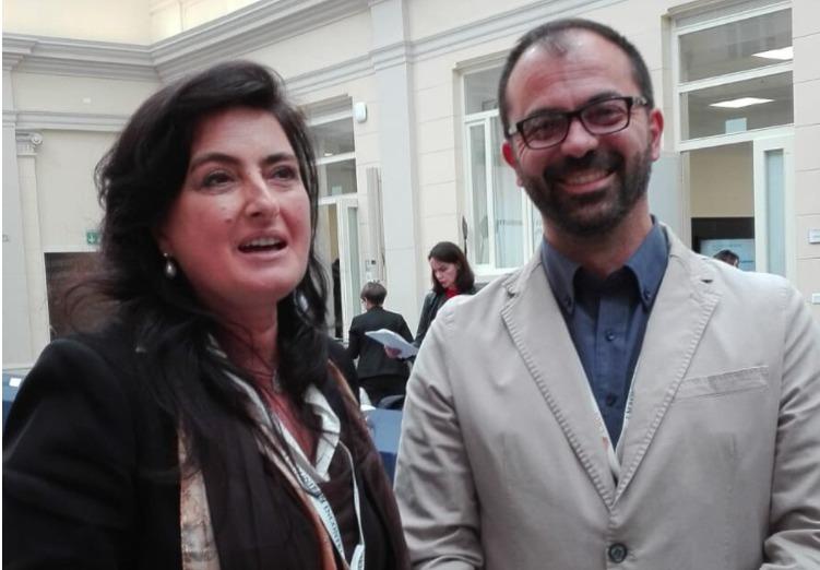Il viceministro Fioramonti e Saviano